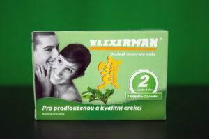 Elixirman - krabička, recenzia