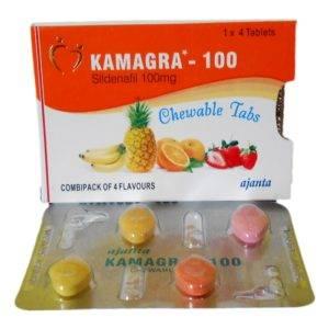 Kamagra Soft (žuvacie tablety)