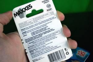 Maxxes - zloženie a dávkovanie