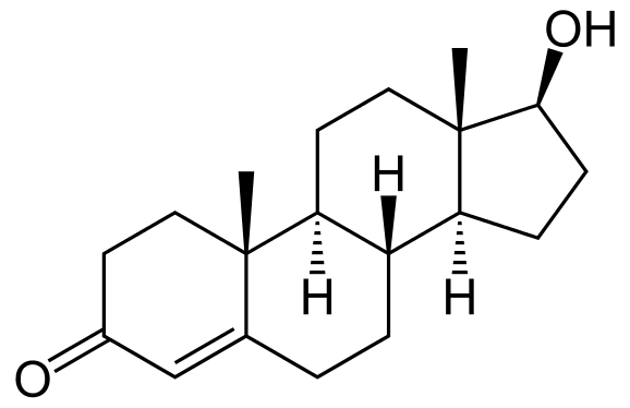 Vzorec testosterónu