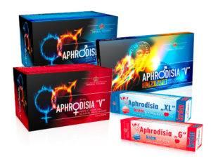 Aphrodisia afrodiziakum erekcia