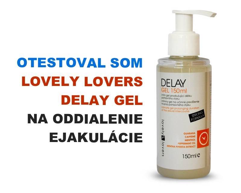 Lovely lovers delay gel na oddialenie ejakul cie erekcia for Dunkelrote na gel