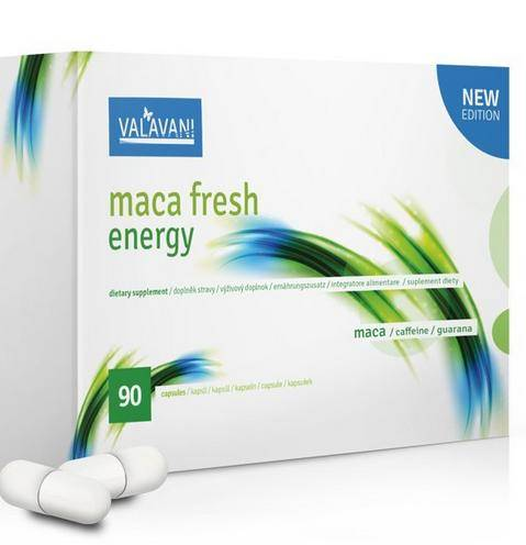 Maca Fresh Energy 90 kapsúl