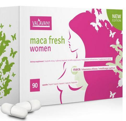 Maca Fresh Women 90 kapsúl