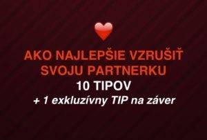 10 tipov ako najlepšie vzrušiť svoju partnerku + 1 exkluzívny na záver