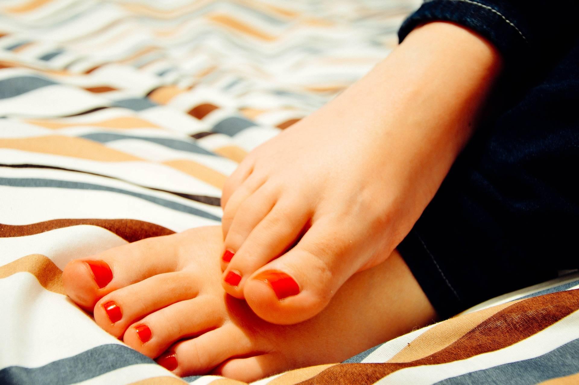 dôležitá masáž chodidiel