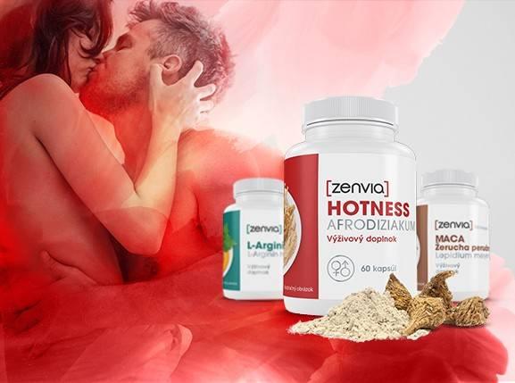 Hotness Zenvia - afrodiziakum pre mužov i ženy