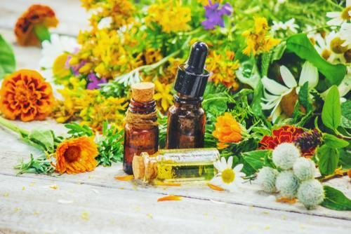 Kvapky Gynex - množstvo rastlinných extraktov