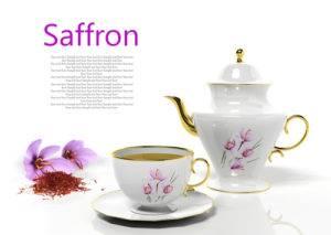 Šafránový čaj