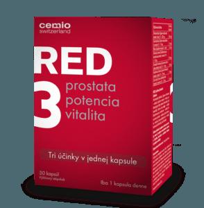 Cemio RED3 30 kapsúl