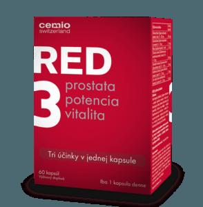 Cemio RED3 60 kapsúl