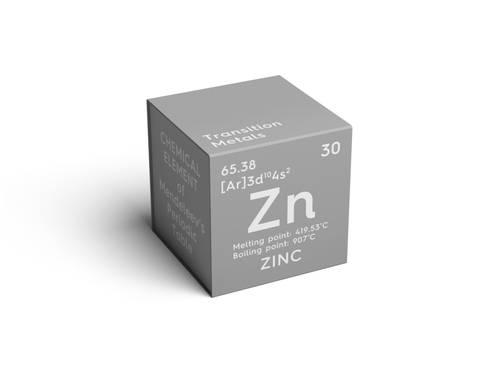 Zinok - minerálny prvok