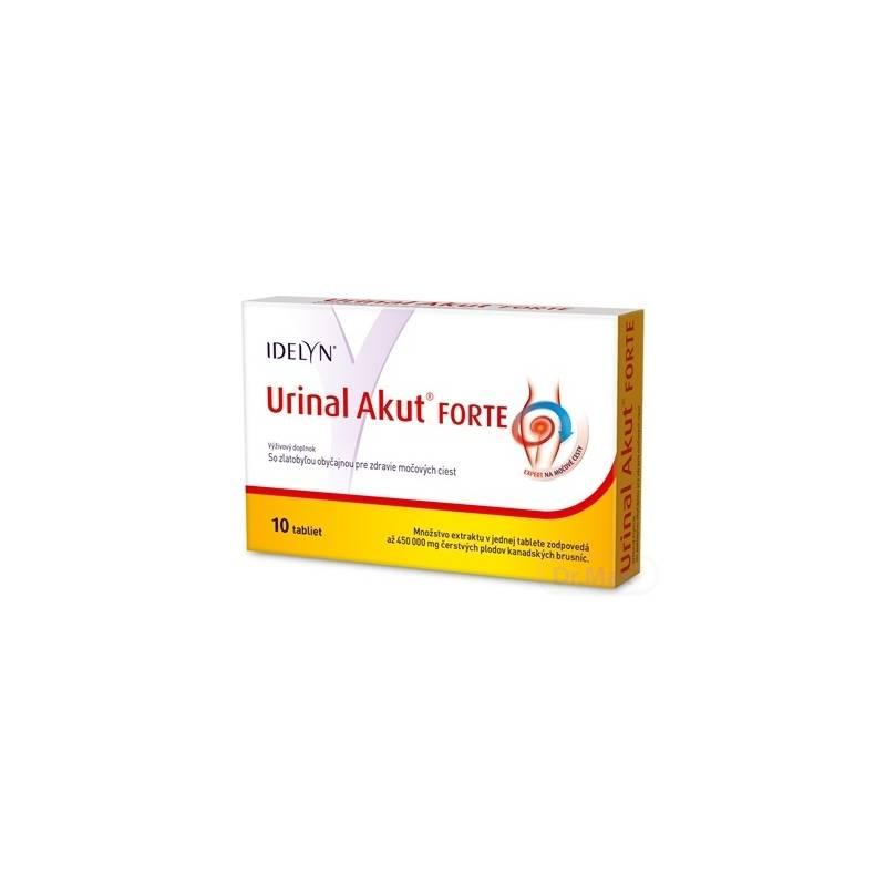 Urinal Akut Forte 10 tabliet recenzia