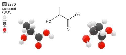Kyselina mliečna vzorec