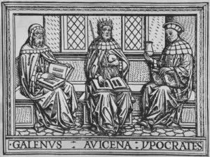 Galen, Avicenna, Hippocrates
