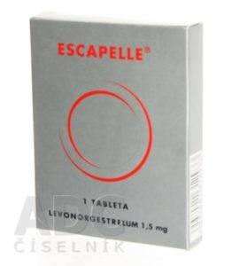 Escapelle - tabletka po