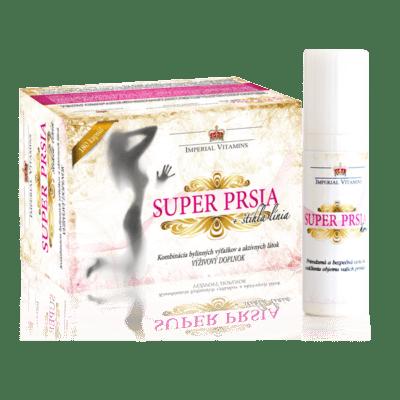 Super Prsia + štíhla línia a Super Prsia krém, výhodný balíček
