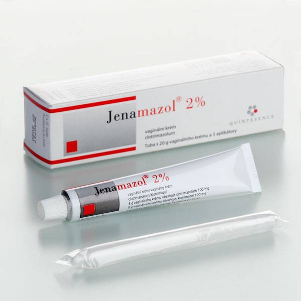 Jenamazol 2% - recenzia, vaginálny krém, liek