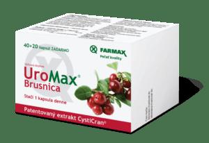 UroMax Brusnica - recenzia
