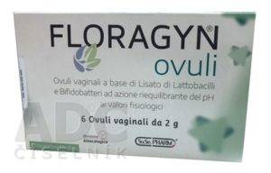 Floragyn Ovuli - vaginálne čapíky, recenzia