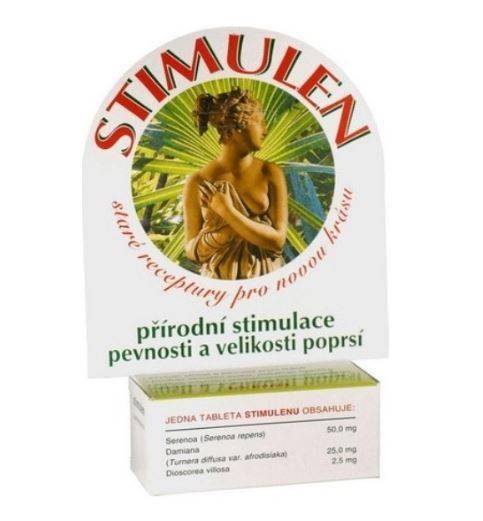 Stimulen tabletky - prírodná stimulácia rastu poprsia