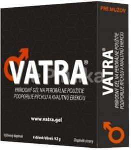 VATRA gél pre mužov - recenzia